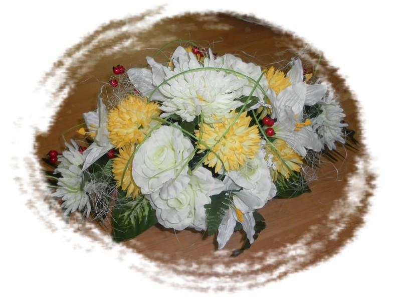 Ikebana na hrob
