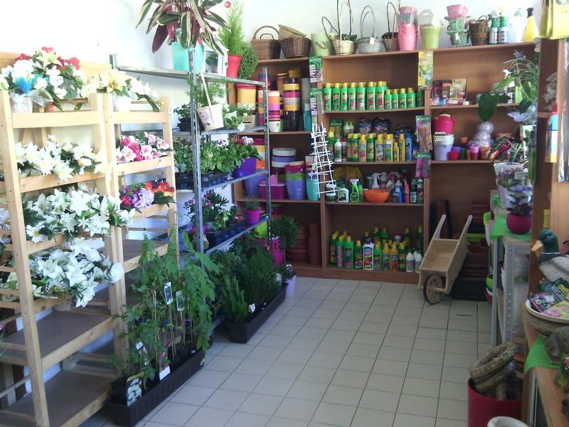 Črepníkové kvety a záhradnícky sortiment